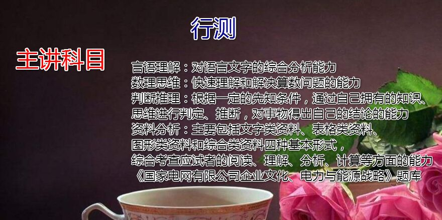 2019国家电网(二批)寒假班行测直播课